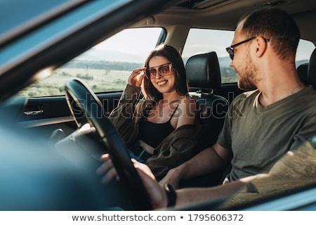 若い女性 suv 女性 少女 車 ストックフォト © monkey_business