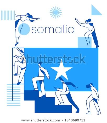 Somali banderą tematy pomysł projektu tekstury Zdjęcia stock © kiddaikiddee
