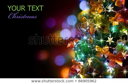 Christmas tree and 2011 new year Stock photo © timbrk