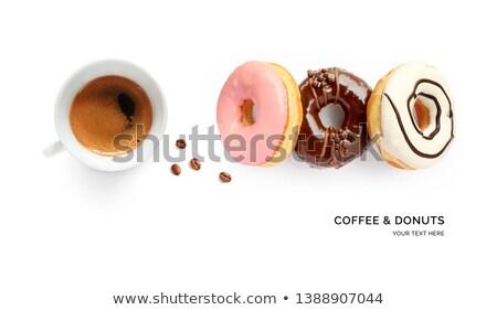 Donuts quatre dessert Photo stock © raphotos