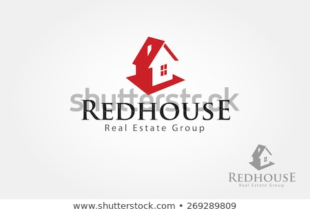 Vector simple real estate illustration – small house ...