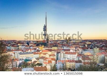 Praag wijk oude stad straat Stockfoto © stevanovicigor