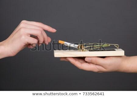 Cigarros armadilha cigarro droga Foto stock © idesign