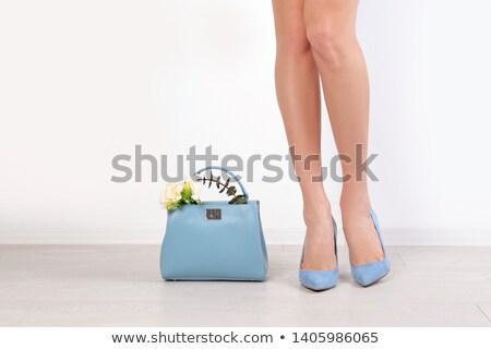 ног · изолированный · белый · красивой · женщины - Сток-фото © wavebreak_media