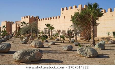 壁 市 モロッコ ランドマーク アーキテクチャ 壁 ストックフォト © tony4urban