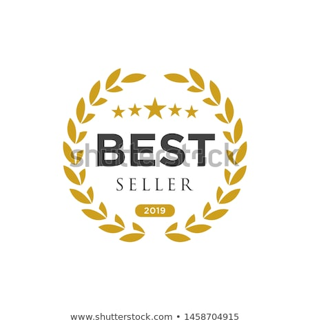 best seller label Stock photo © get4net