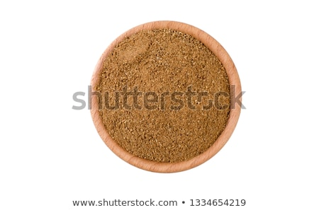 Stock photo: Front view of bowl of Organic Caraway.