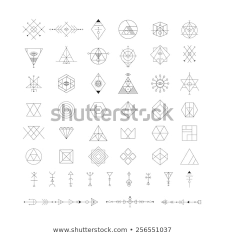 Hipster Symbol Stock photo © Lightsource