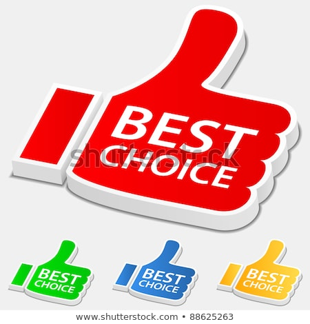 best offer yellow vector icon button stock photo © rizwanali3d