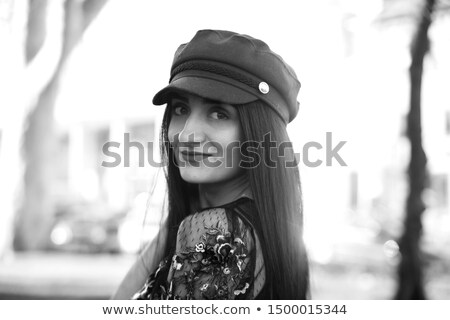Beauty fashion girl Portrait of stunning fashionable model woman Stock photo © Victoria_Andreas