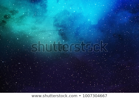 Stock photo: Space background with nebula