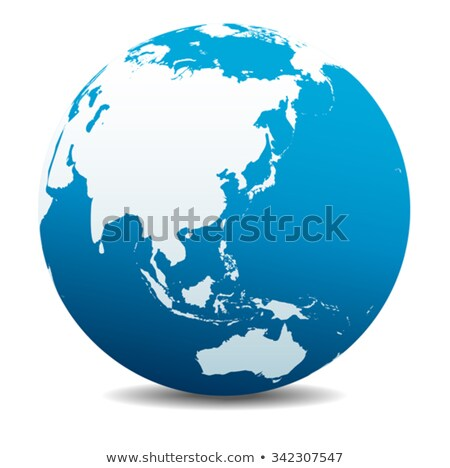 china japan malaysia thailand indonesia australia world stock photo © fenton