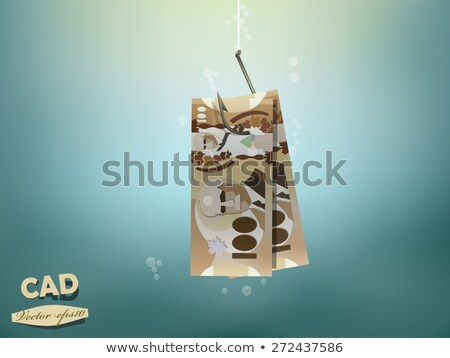 Fishing Hook and Canadian Dollar Stock photo © devon