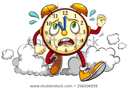 Clock showing the eleventh hour Stock photo © bluering