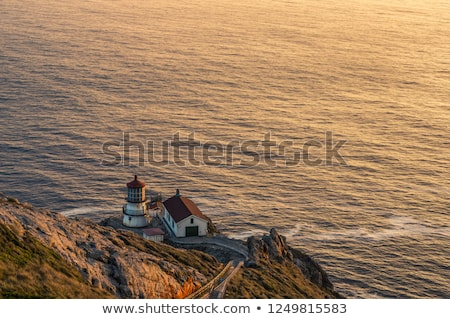 Point Reyes Lighthouse, Sunset. Point Reyes National Seashore, North California, USA Stock photo © yhelfman
