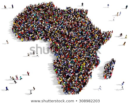 Africa Population Stock photo © idesign
