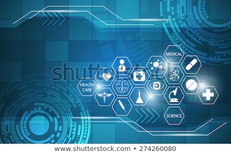 sağlık · tıbbi · kardiyoloji · kalp · insanlar · simgeler - stok fotoğraf © tefi