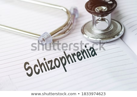 Diagnosis - Psychosis. Medical Concept with Blurred Background. Stock photo © tashatuvango