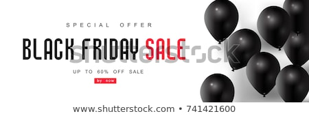 Black Friday Promoting Profit Stock photo © Lightsource