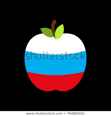 Pomme Russie pavillon fruits alimentaire Photo stock © popaukropa
