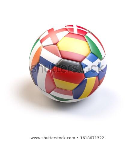 Futebol bandeira escócia futebol campeonato 3D Foto stock © andreasberheide