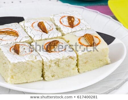 ízletes mandula étel háttér ázsiai indiai Stock fotó © bdspn