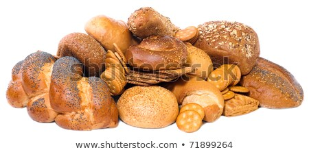 small roll pikelets and biscuits Stock photo © wildman