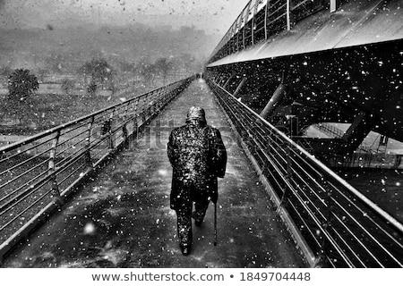 Fehér utak nyomorúság közelkép fiatal drog Stock fotó © MilanMarkovic78