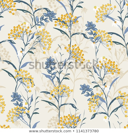 vintage floral autumn background stock photo © artspace