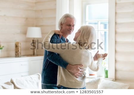 Affectionate spouses Stock photo © pressmaster