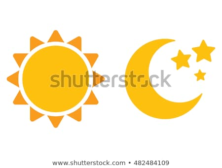 summer time icons set closeup vector illustration stock photo © robuart