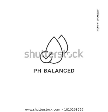 Hypoallergenic product label with leaf - natural hypoallergenic  Stock photo © Winner