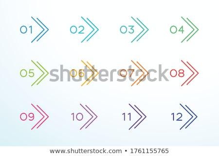 pack · infografica · grafici · opzioni · elementi - foto d'archivio © sarts