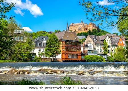 Marburg castle, Germany Stock photo © borisb17
