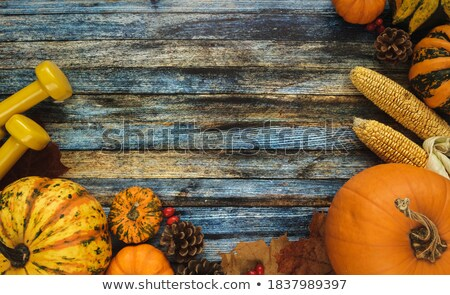 composition of various vegetables and copyspace stock photo © lichtmeister