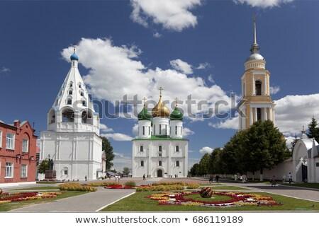 Onderstelling kathedraal Rusland binnenkant Kremlin hemel Stockfoto © borisb17