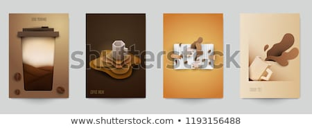 Morning composition paper cut Stock photo © barsrsind