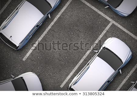 Private parking space Stock photo © magraphics
