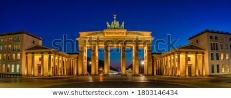有名な ベルリン 1泊 空 建物 ストックフォト © elxeneize