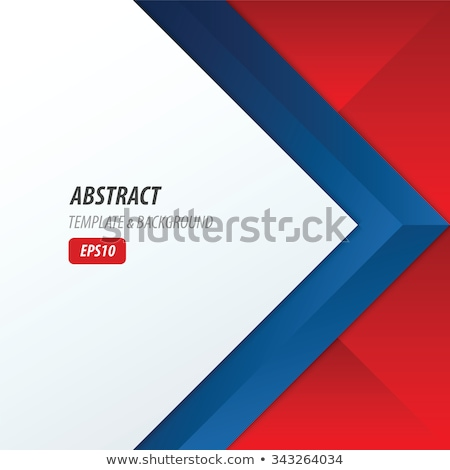 blue and red digital technology frame with text space Stock photo © SArts