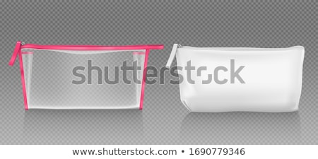 Vector Cosmetic Bags with Makeup Stock photo © dashadima
