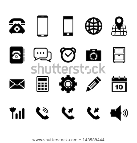 Mobile Phone and movie icon stock photo © kbuntu