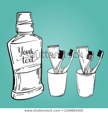 Effectief room jar icon vector schets Stockfoto © pikepicture
