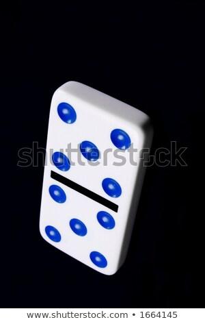 Diez aislado números blanco ocio juego Foto stock © posterize