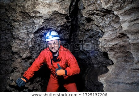 Cave Exploration Stock photo © SimpleFoto
