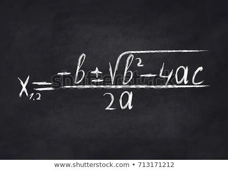 Equation Exercises Stock photo © ruigsantos