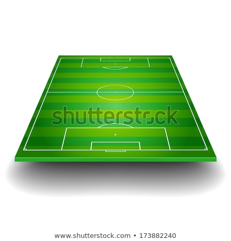 Football pitch - eps10 Stock photo © Lizard