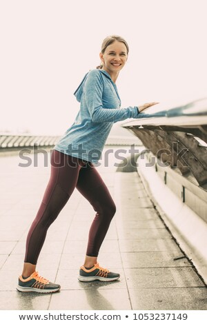 розовый · спортивных · бюстгальтер - Сток-фото © darrinhenry