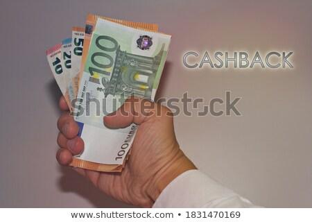 Garantizar financieros euros notas negocios signo Foto stock © Ansonstock