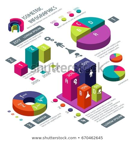 3d stats bars stock photo © cidepix